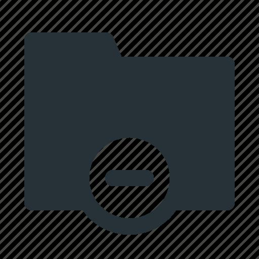archive, cancel, delete, folder, interface, remove, website icon