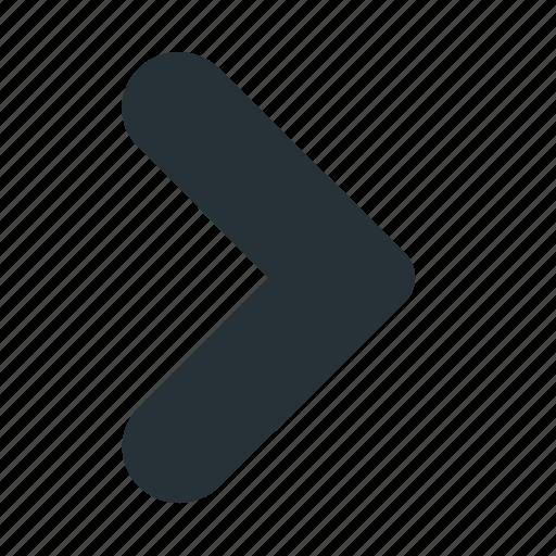 arrow, interface, jump, move, right, ui, website icon