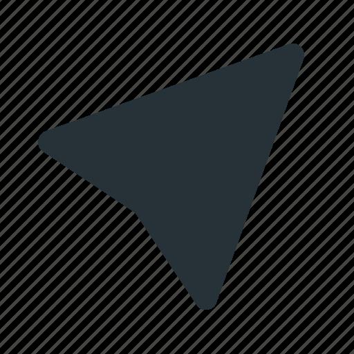 interface, paper, pointer, send, sending, ui, website icon