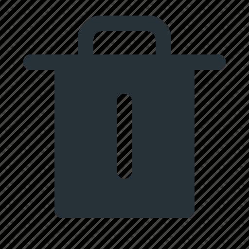 bin, delete, interface, trash, ui, website icon