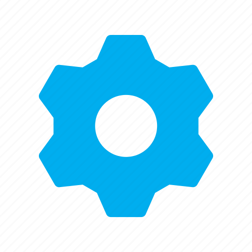 gear, interface, settings, solid, ui, user icon