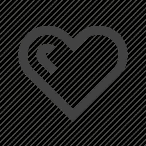 heart, love, romance, romantic, valentine, wedding, wishlist icon