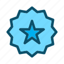 favorite, star, award