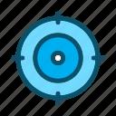 aim, focus, target