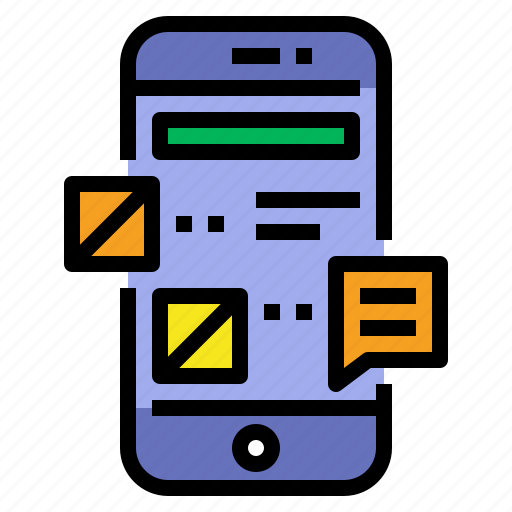 Layout, mobile, mobile apps, mobile layout, mobile menu, ui icon - Download on Iconfinder