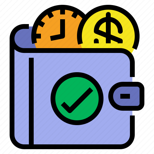 Money, saving, time, wallet icon - Download on Iconfinder