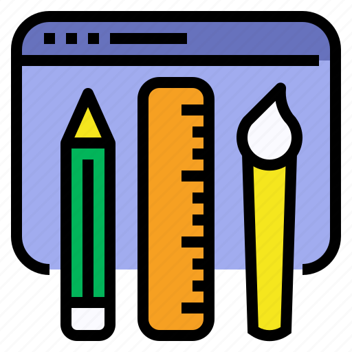 Coloring, design, graphic, ui, ux, visual, web icon - Download on Iconfinder