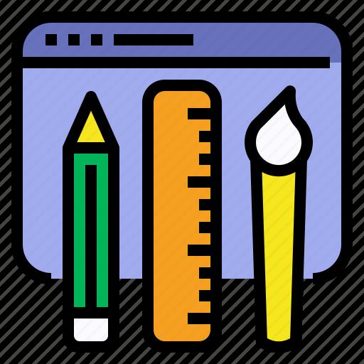 coloring, design, graphic, ui, ux, visual, web icon