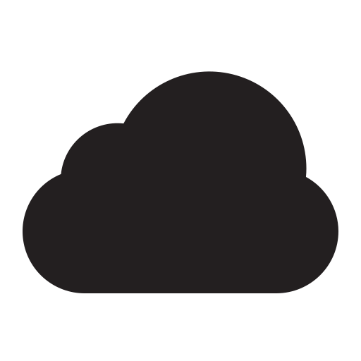 cloud, interface, mobile, storage, ui, weather, web icons icon