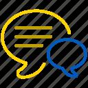 chat, forum, hints, talk, bubble, comment, communication, message, speech