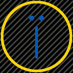 info, information, ukraine i icon