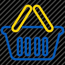 basket, ecommerce, shop, shopping icon