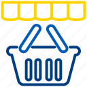 bazzar, market, shop, store, supermarket, ukro bazaar icon