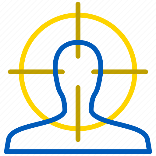aim, goal, kill, marketing, target icon