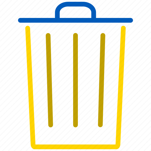 bin, can, delete, dust, dustbin, garbage, remove, trash, trashcan icon