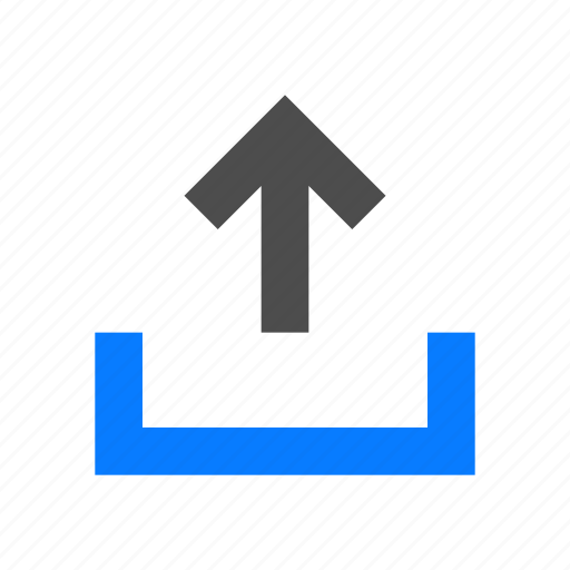 arrow, outbox, share, up, upload icon