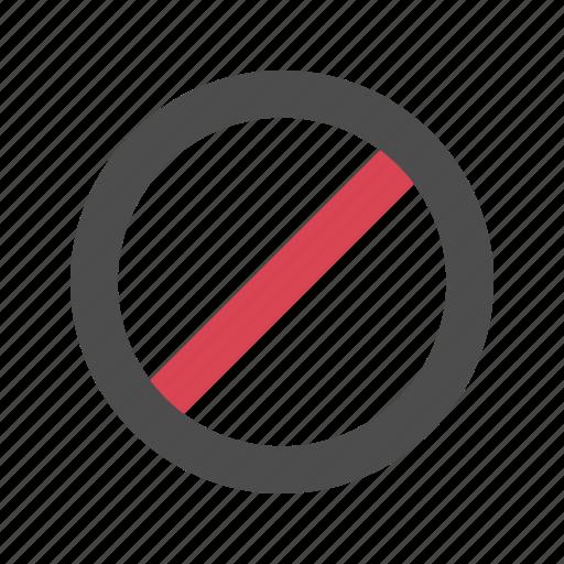 cancel, close, forbidden, stop icon
