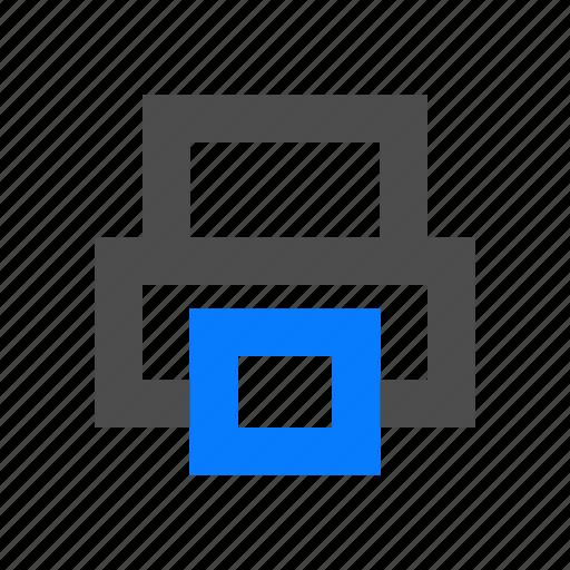 device, print, printer, publisher icon
