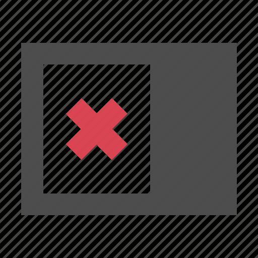 close, left, view icon