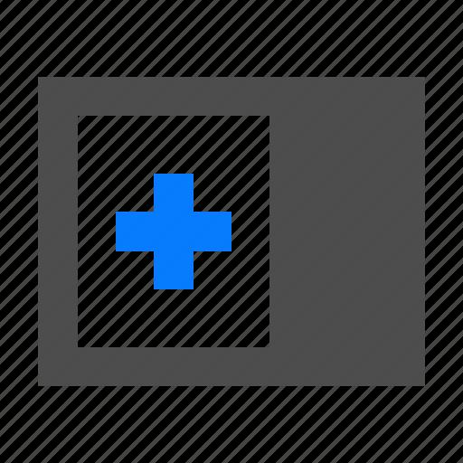 left, new, view icon