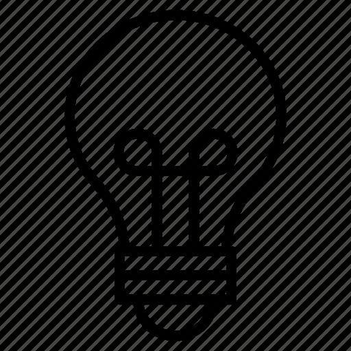 bright, bulb, creativity, idea, light icon