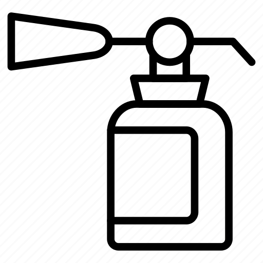cylinder, extinguisher, protection, safety, secure icon