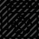 create, document, edit, gear, write icon