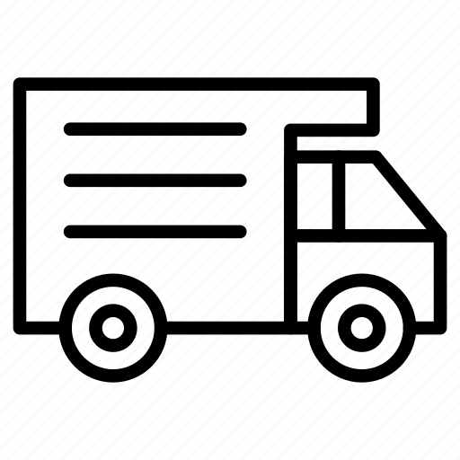 automobile, delivery, lorry, transport, vehicle icon
