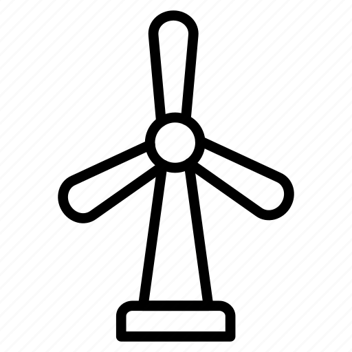 ecology, energy, power, turbine, windmill icon
