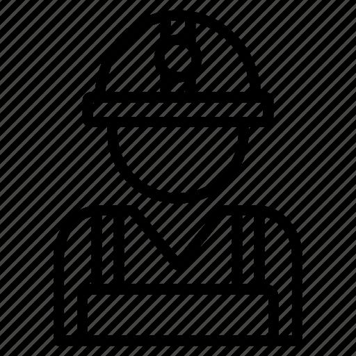 employee, engineer, male, man, worker icon