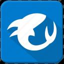 fish, sea, shark, underwater