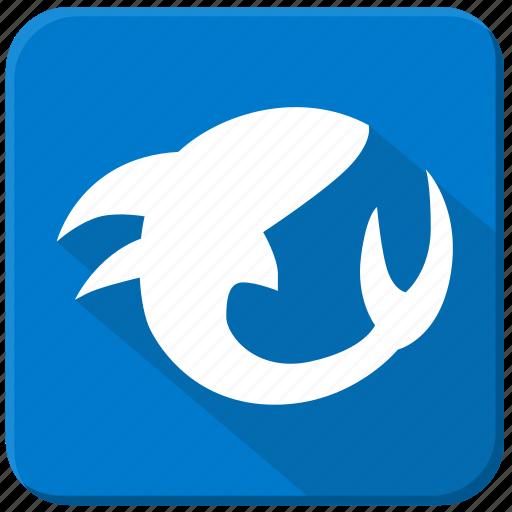 fish, sea, shark, underwater icon