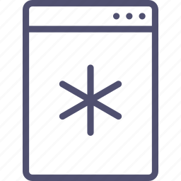 cooler, fridge, icebox, kitchen, minibar, refrigerator icon