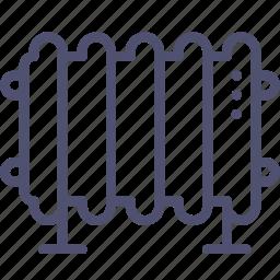 heater, oil icon