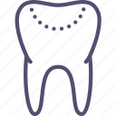 filling, medicine, tooth icon