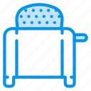 kitchen, toaster icon