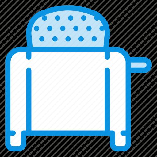 kitchen, toaster icon