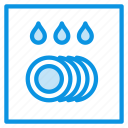 dishwasher, kitchen icon