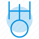 astrology, sign, uranus icon