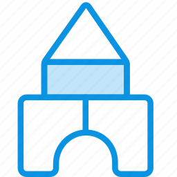 baby, building, constructor, house, kit, toy icon