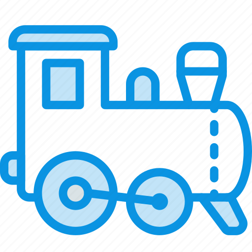 baby, toy, train icon