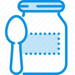 baby, food, preserves icon