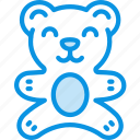 bear, toy icon