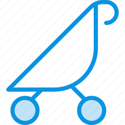 baby, buggy, cane, stroller icon