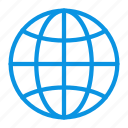 earth, globe icon