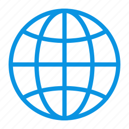 connection, earth, globe, internet, network, planet, web icon