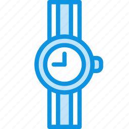 accessory, clock, time, watch, wrist icon