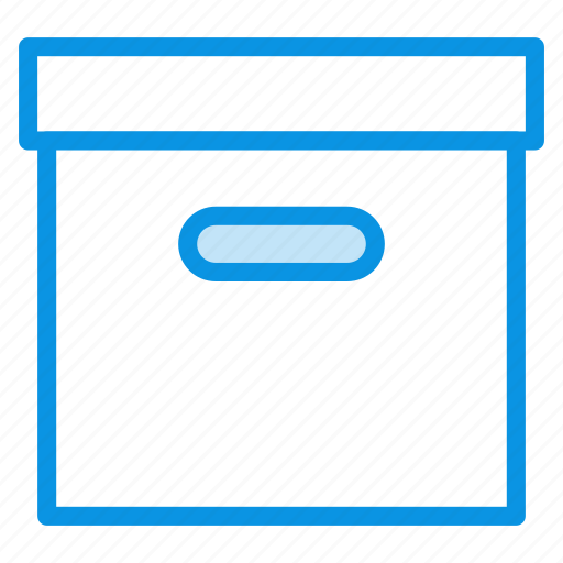 archive, box, product icon