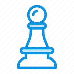 chess, figure, games, pawn, strategy icon