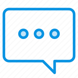 bubble, hint, message icon